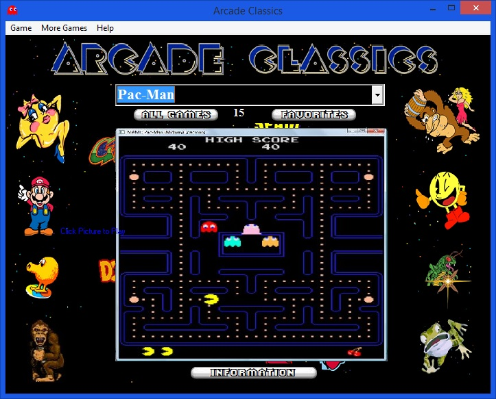 Arcade Classics for Windows